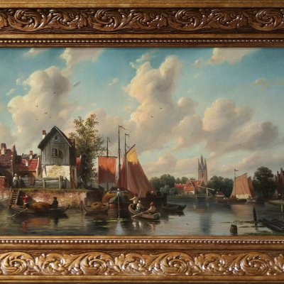 Dutch landscape.