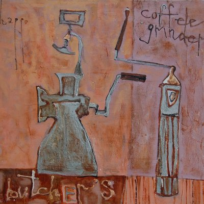 Kitchen still life. Pavel Shappo.