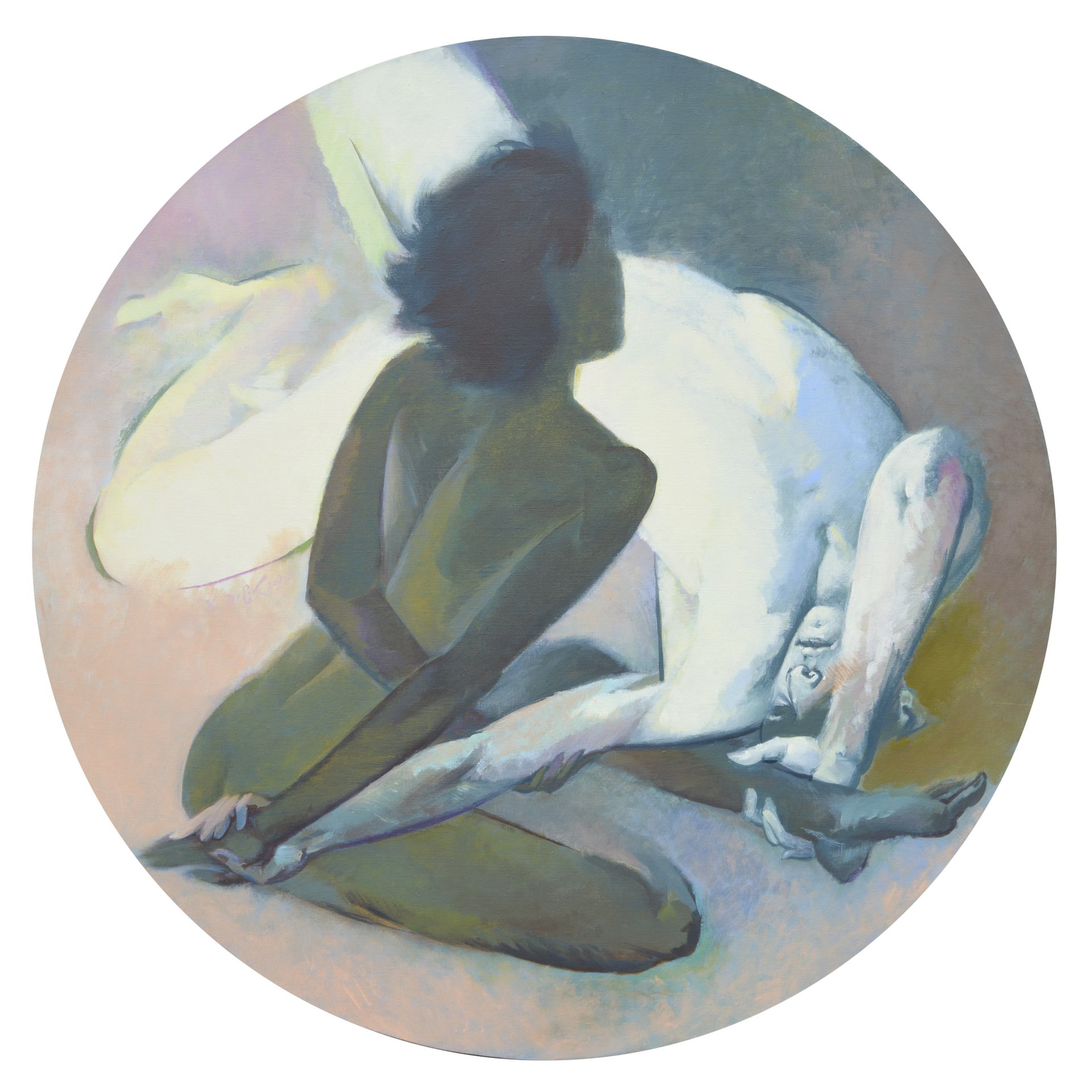 Color White. (From the Yin-Yang series)