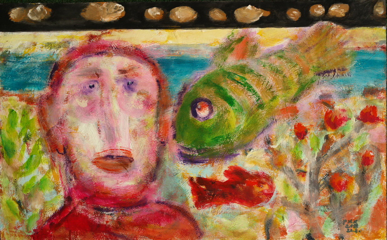 Poet and fish
