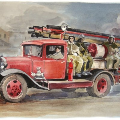VMS 5 - the first series of fire cars