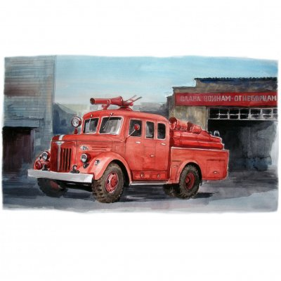 History of fire cars!