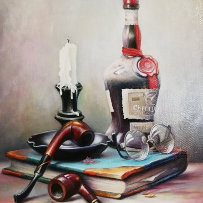From a series of bright still lifes. Gabor Toth