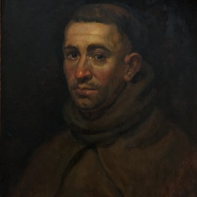 Portrait of Monk, Rubens, copy