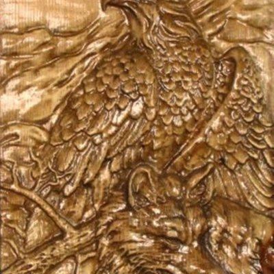 Eagle and Wolf Panno