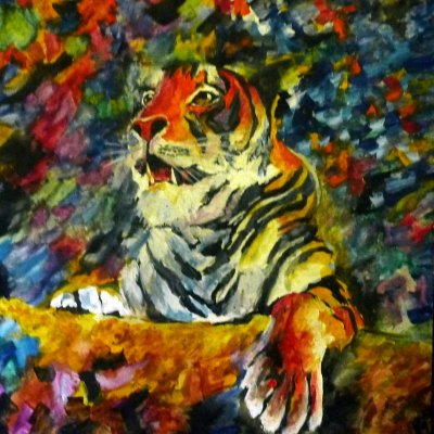 Tiger in the Circus