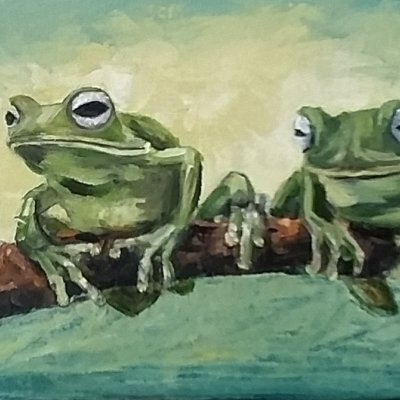 Frogs are girlfriends.