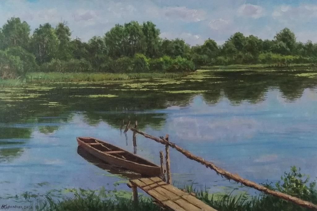 Boat in the mostika