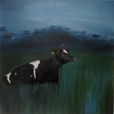 Cow diptych 1st part.