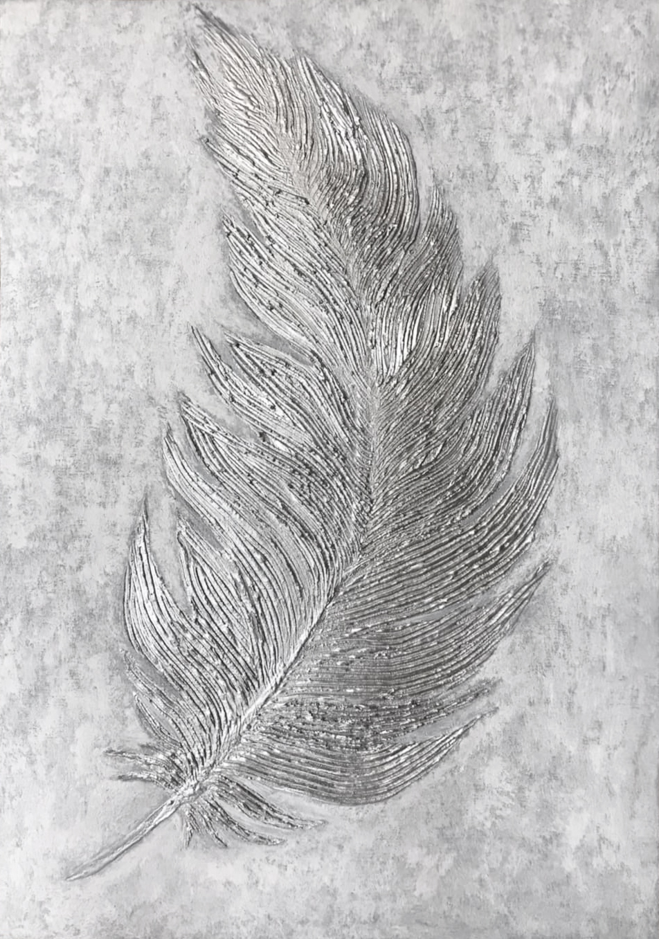 Silver Silver Feather