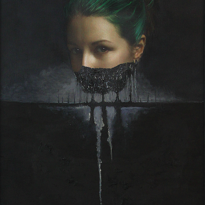 Girl with Green Hairs