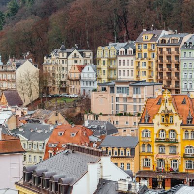 """Karlovy Vary and their """"gingerbread"""" houses"""