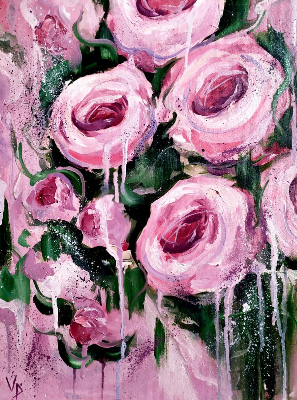 """Painting """"Roses"""""""