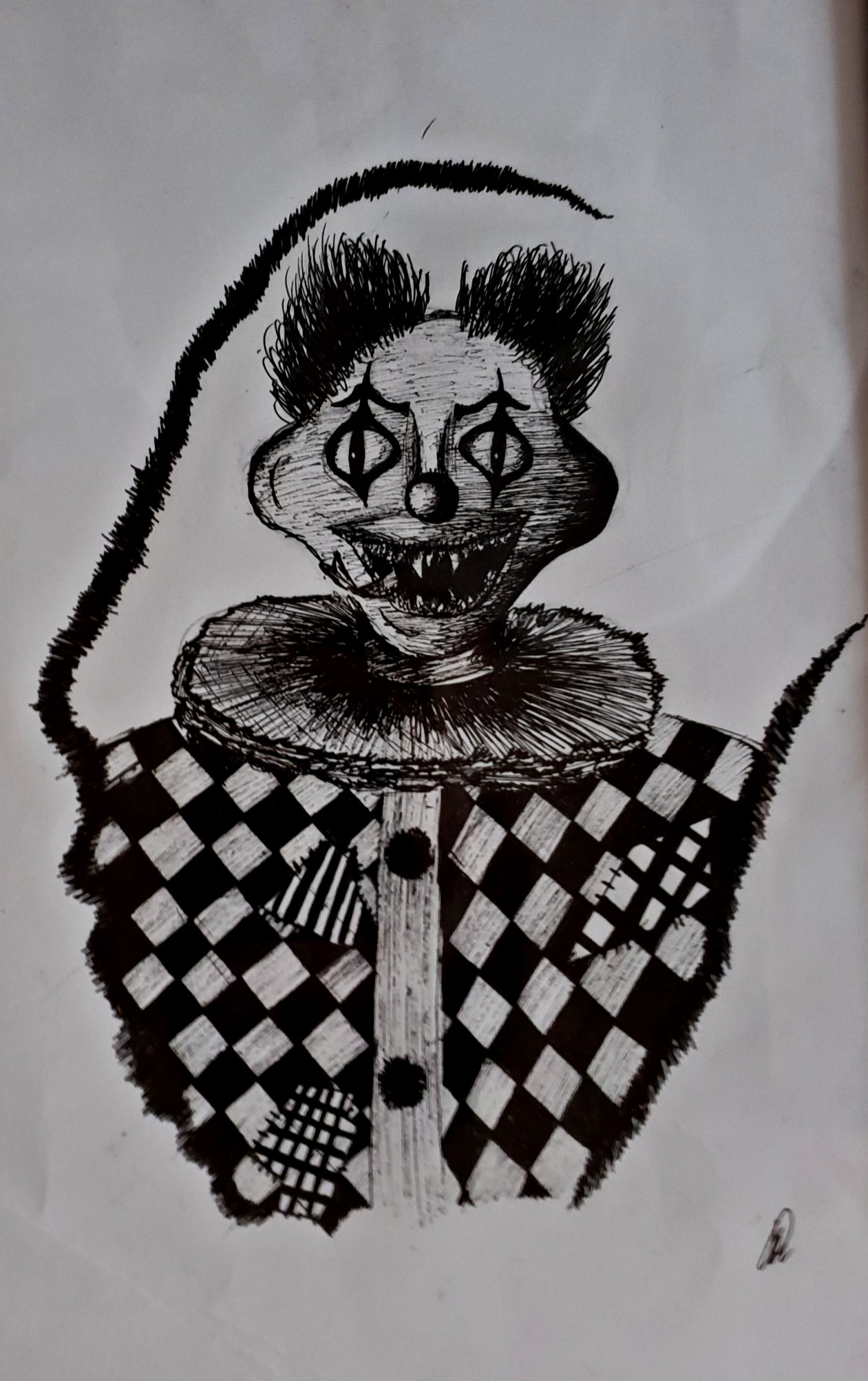 The clown came for you