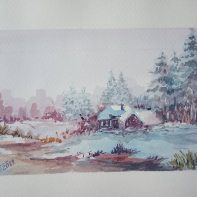 Winter on the Pond