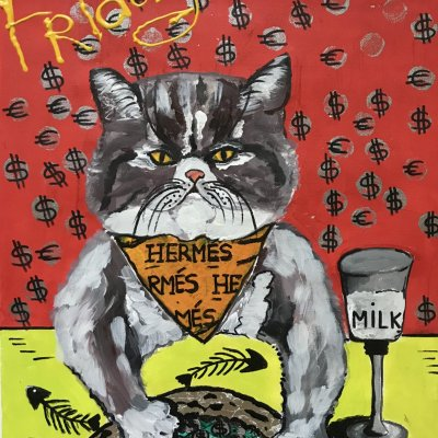 Friday. Rich Cats