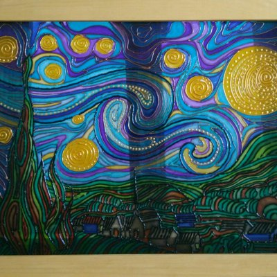 """""""Starry Night"""" reproduction"""