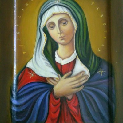 Icon of Mother of God Willing