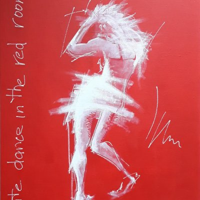 WHITE DANCE IN THE RED ROOM...