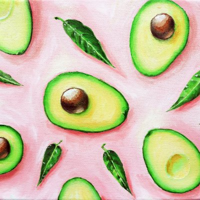 Painting with Avocado