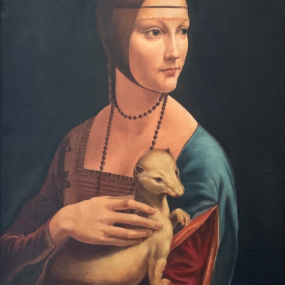 Lady with Mines, copy