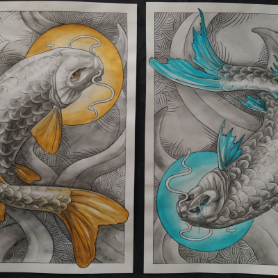 """Diptych """"Which"""""""