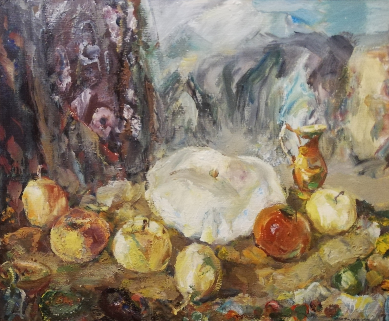 Still life with patissons