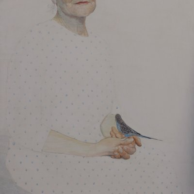 Portrait of a Woman with a Bird