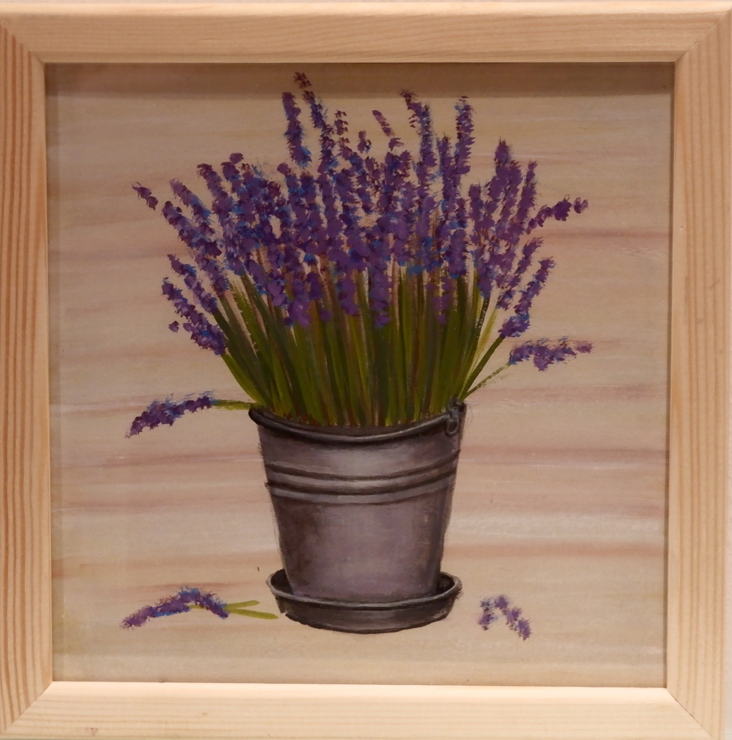 Lavender in the Bucket