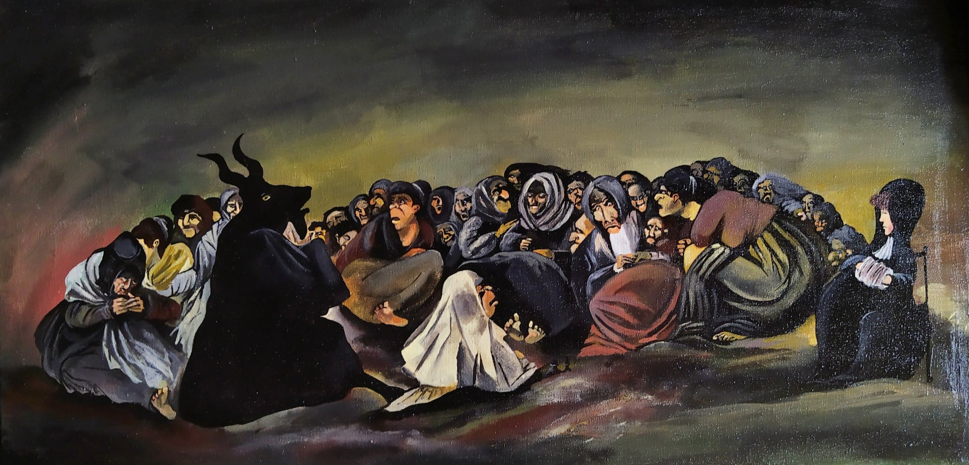 A copy of Goya Shabash Witches