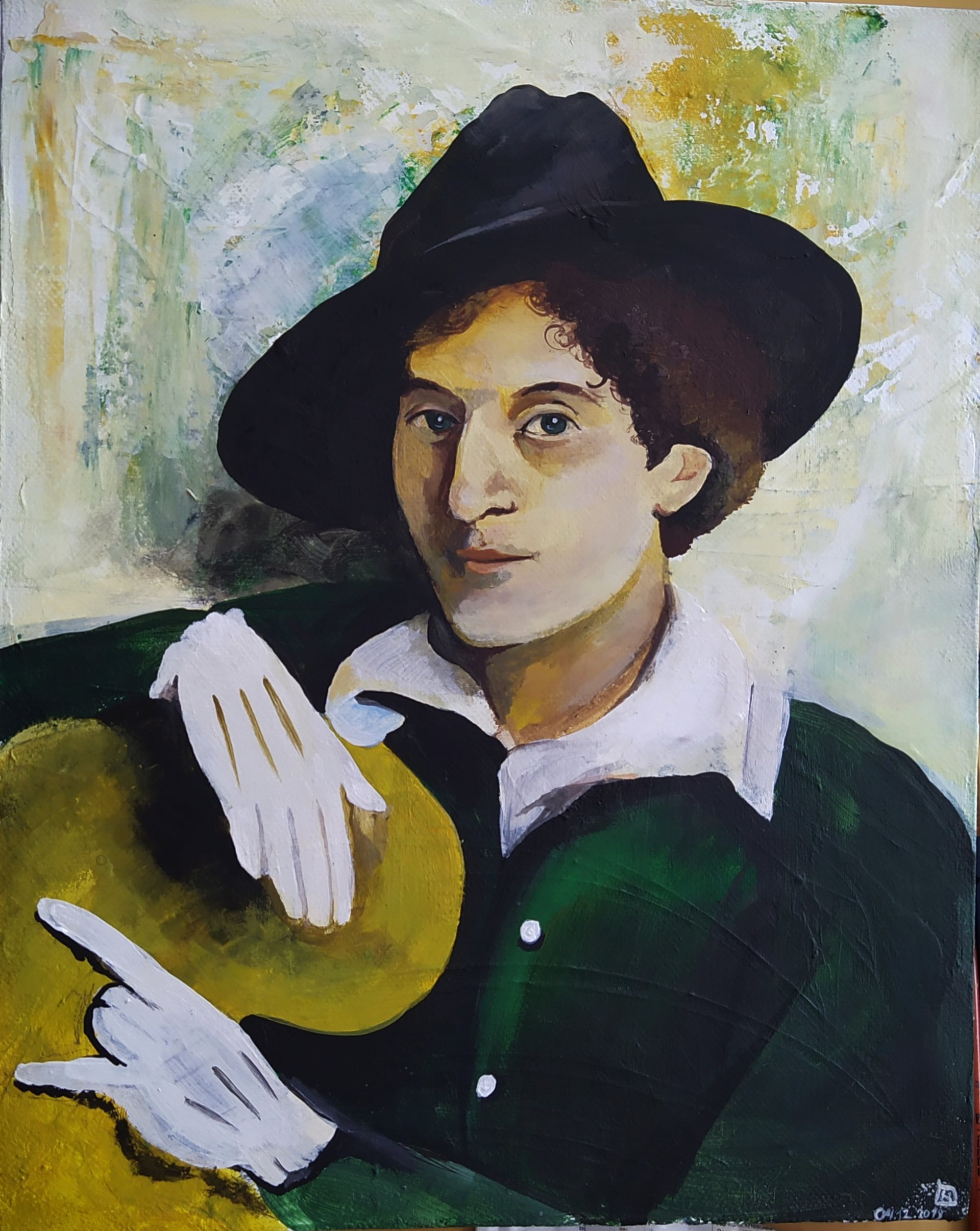 Portrait of Marc Chagall
