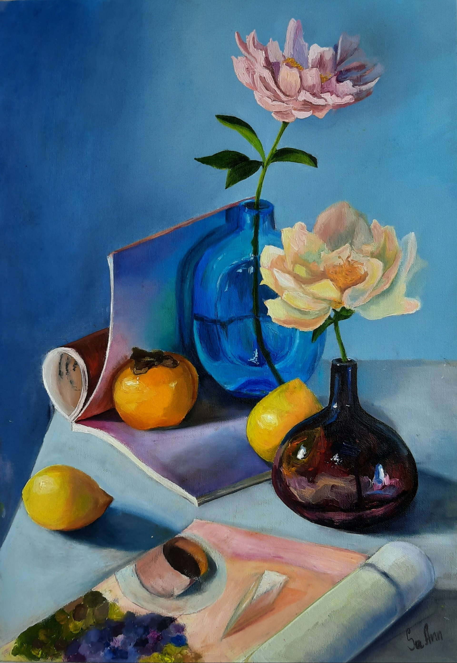 Still Life with Peons