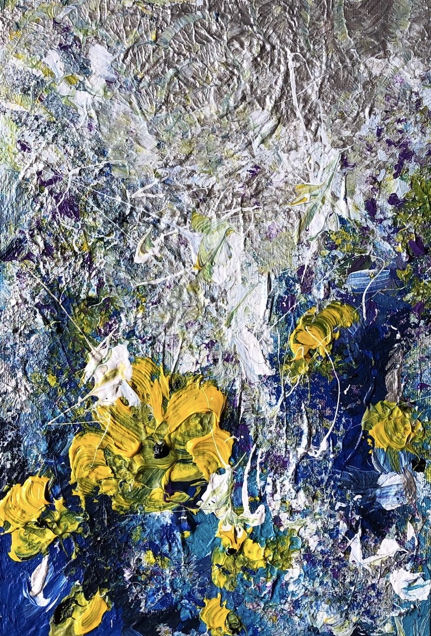 Abstraction flowers