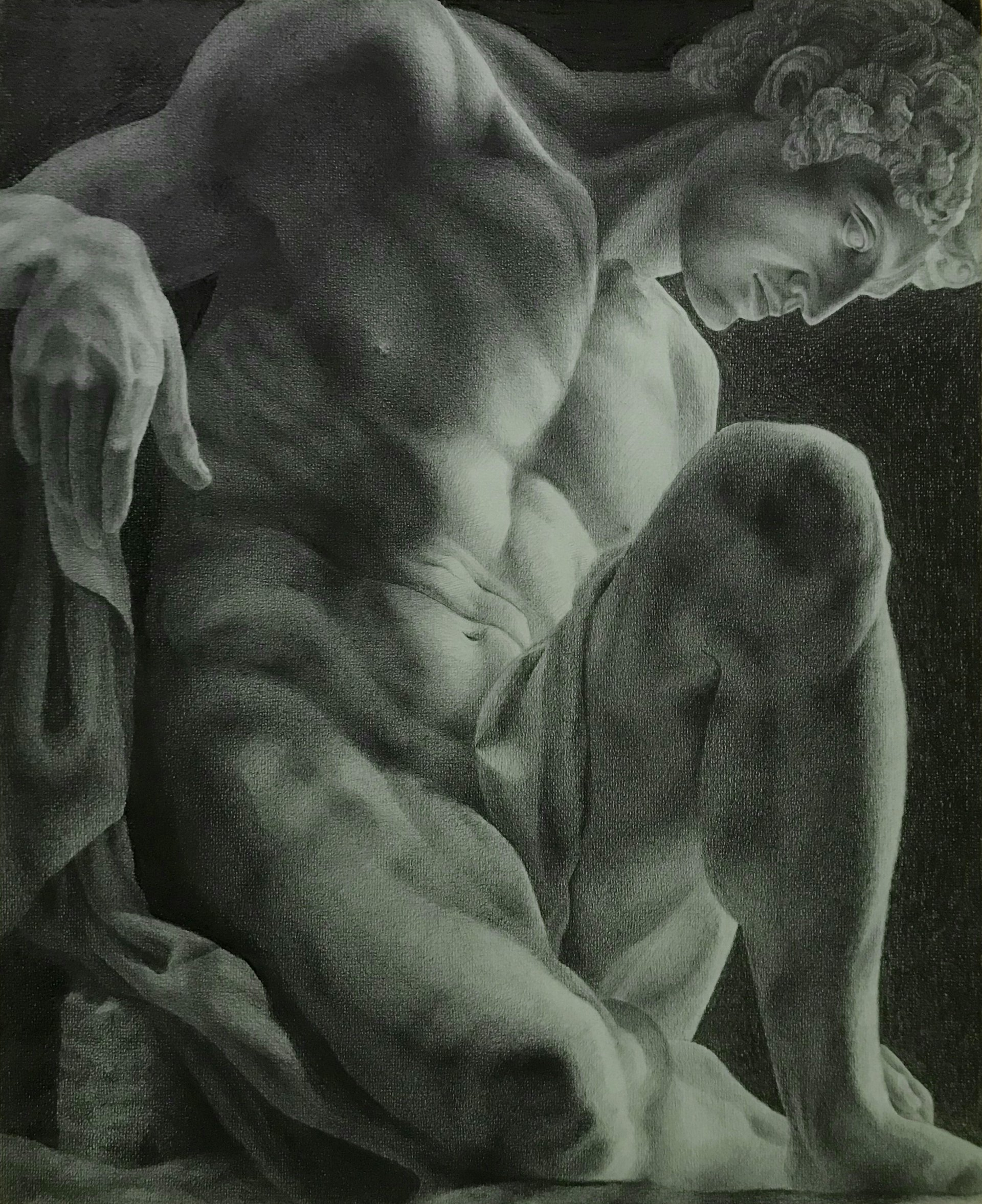 Portrait of a Naked Man