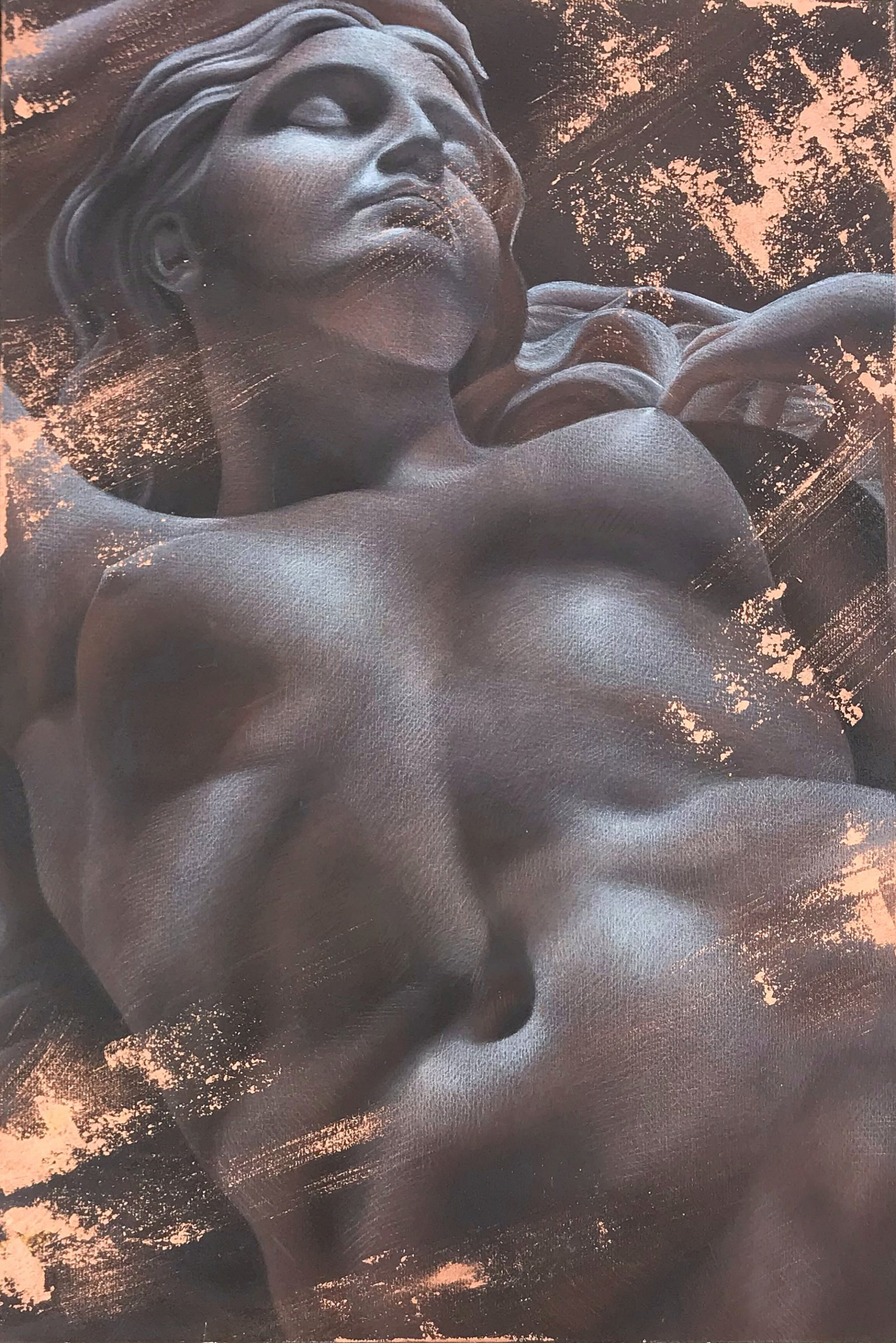 Portrait of a Nude Girl