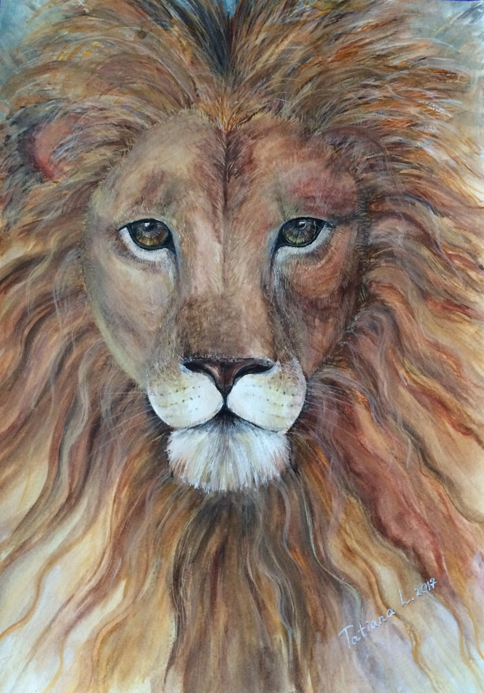 Be Dared Like a Lion