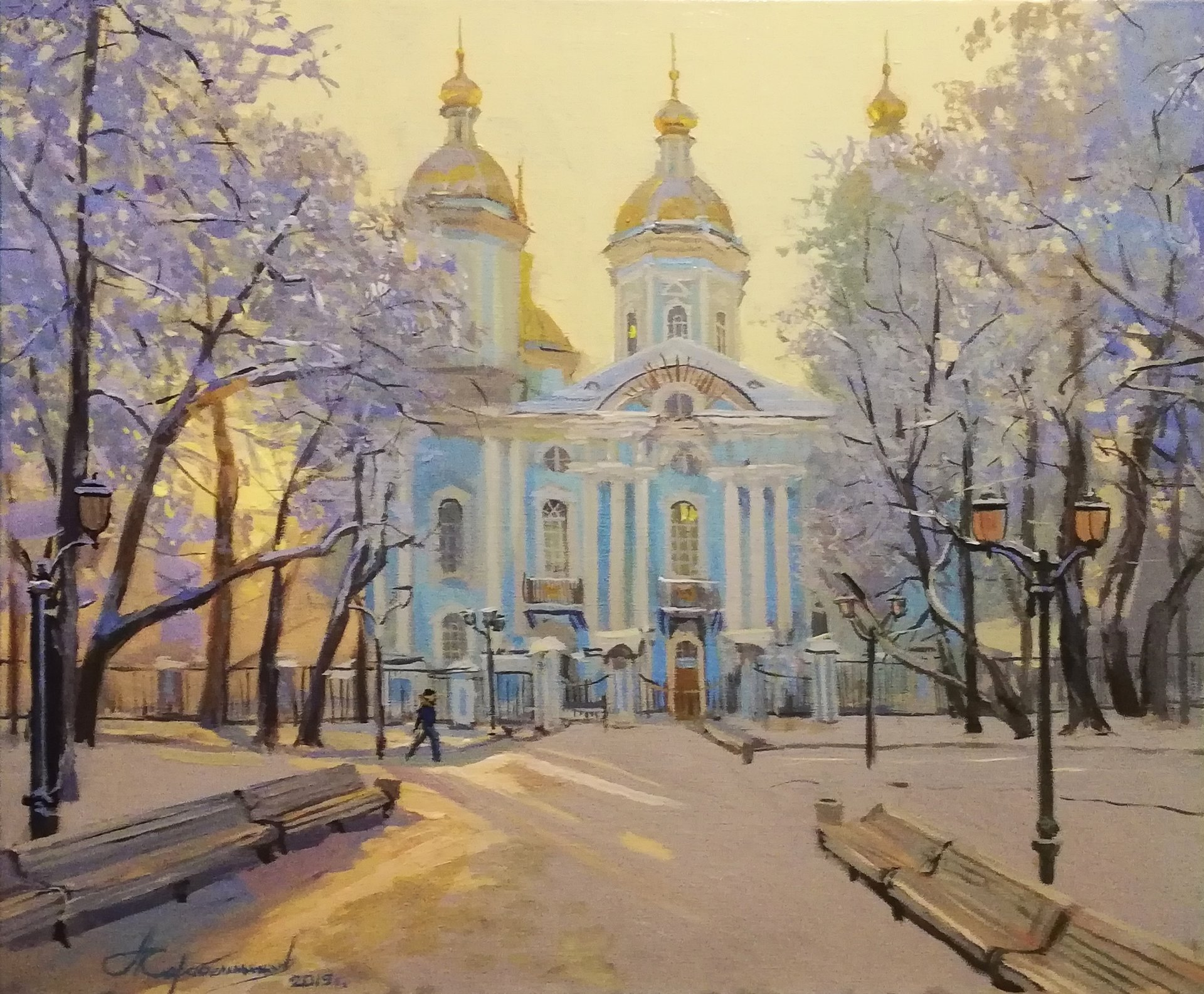 """Winter morning at the Sea Cathedral"""""""