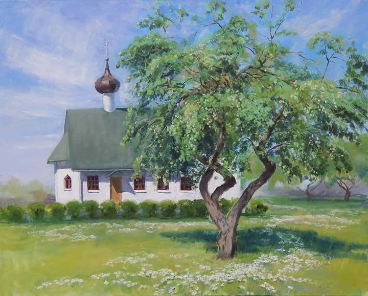 The apple tree at the temple