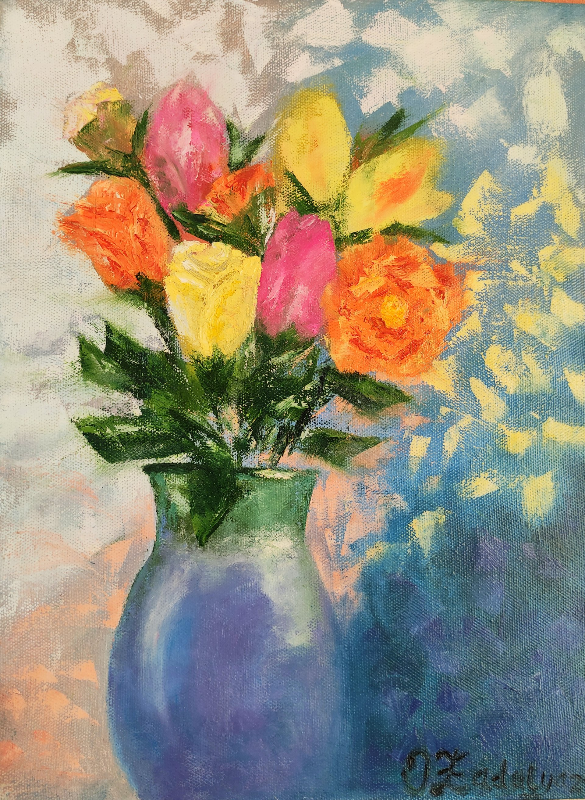 Bouquet on March 8
