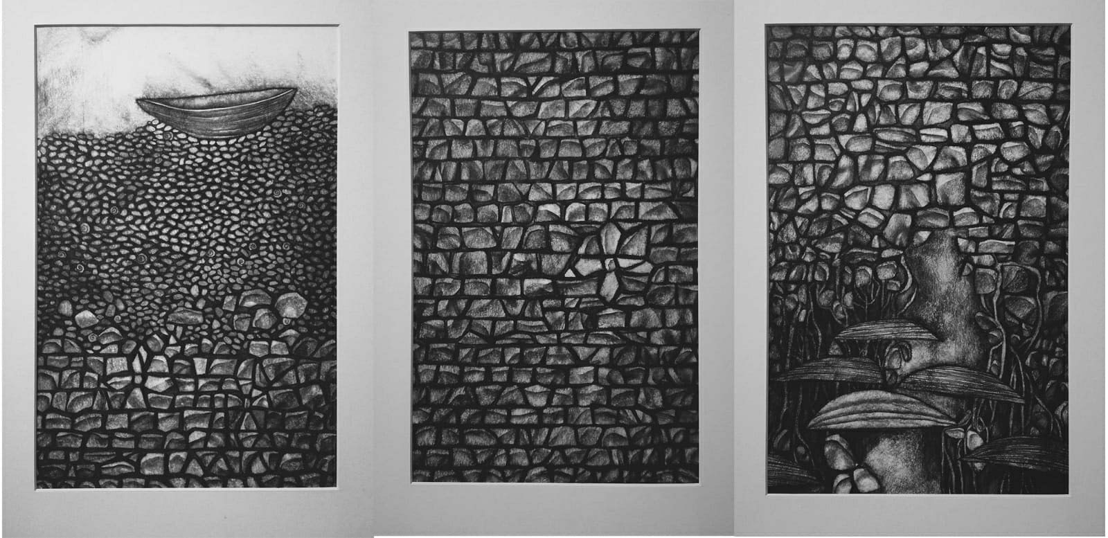 After a while. Triptych