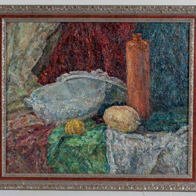 Still life with a soup