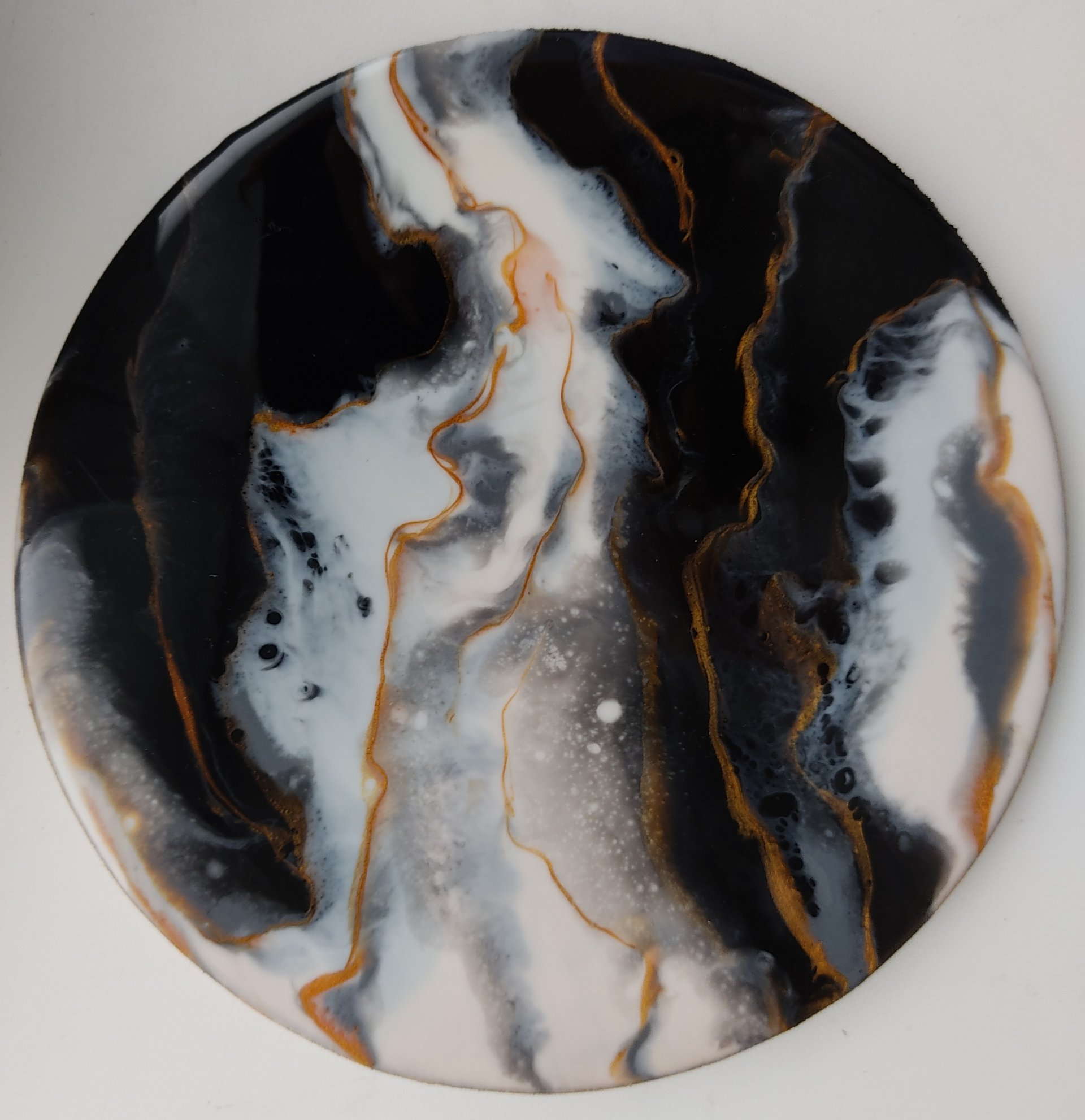 Gold in Marble