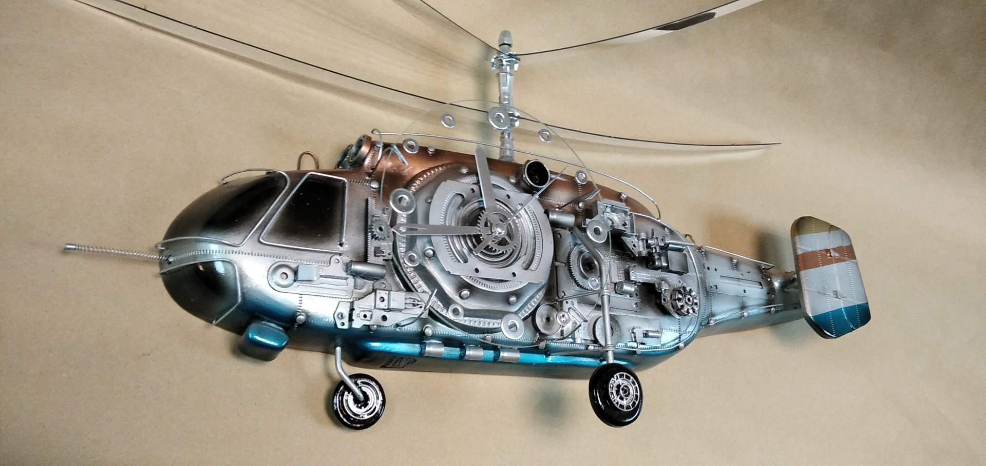 Russian Navy helicopter K-27