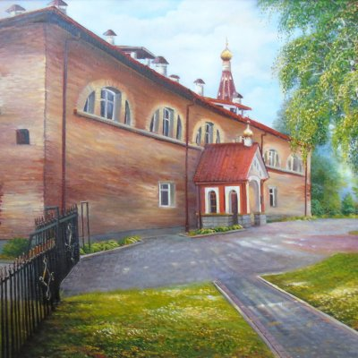 Monastery in Brest Fortress