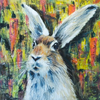 Parade portrait of the hare