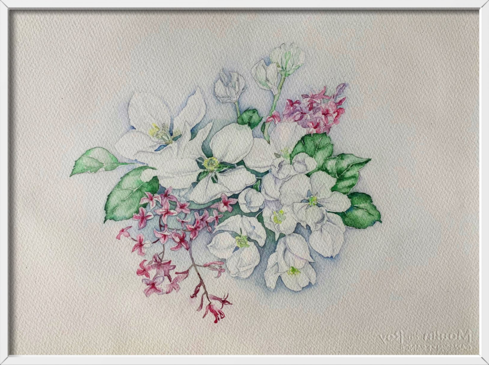 White Flowers, Lilac