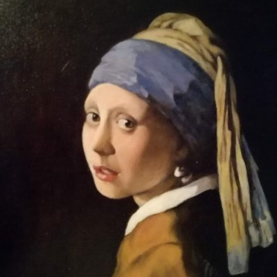 "Ian Vermeer's copy of ""The Girl with the Pearl Earring"""